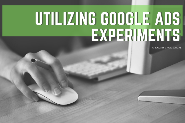 Google Ads Experiment