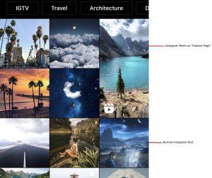 Instagram's Explore Page